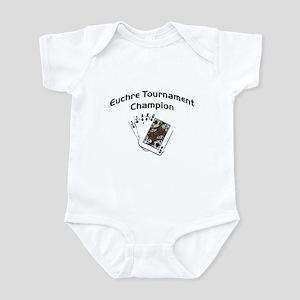 Euchre Tournament Infant Bodysuit