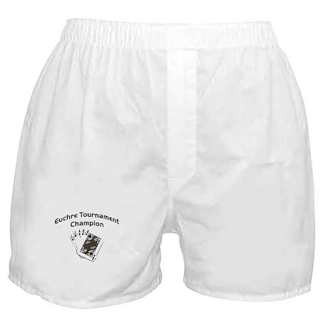 Euchre Tournament Boxer Shorts