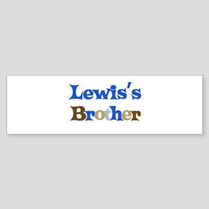 Lewis's Brother Bumper Sticker