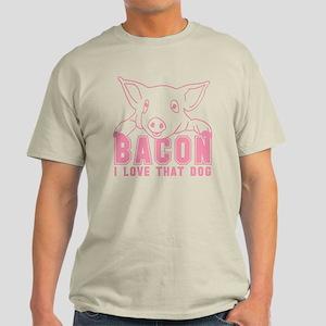 Bacon - Pink Imprint Light T-Shirt