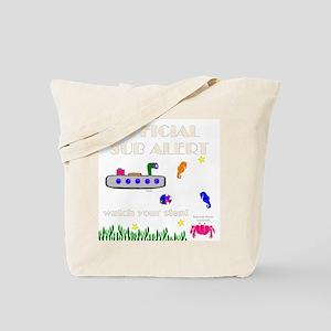 Sub Alert Canvas Tote Bag