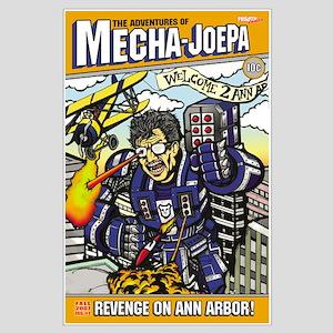 Mecha JoePa Joe Paterno Poster