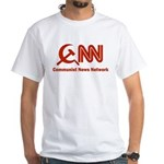 CNN - Commie News Network White T-Shirt
