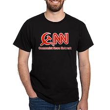 CNN - Commie News Network Dark T-Shirt