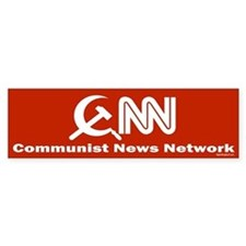CNN - Commie News Network Bumper Sticker