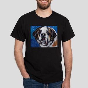 adorable Saint Bernard Dark T-Shirt