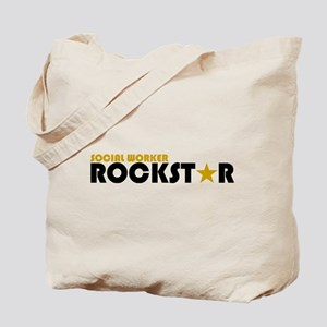 Social Worker Rockstar 2 Tote Bag