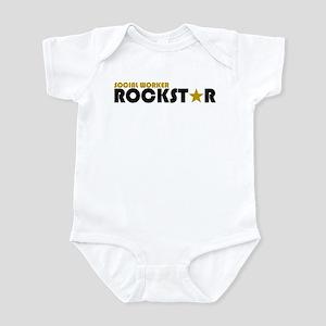 Social Worker Rockstar 2 Infant Bodysuit