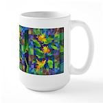 Leaf Mosaic Large Mug