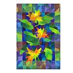 Leaf Mosaic Postcards (Package of 8)