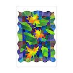 Leaf Mosaic Mini Poster Print