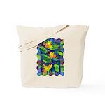 Leaf Mosaic Tote Bag