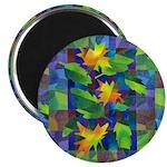 Leaf Mosaic Magnet