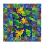 Leaf Mosaic Tile Coaster