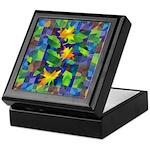 Leaf Mosaic Keepsake Box