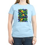 Leaf Mosaic Women's Light T-Shirt