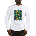 Leaf Mosaic Long Sleeve T-Shirt