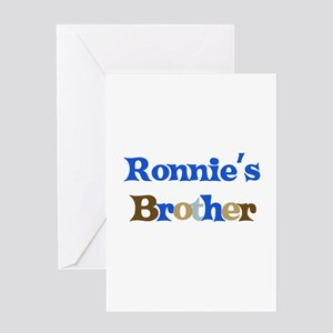 Ronnie's Brother Greeting Card