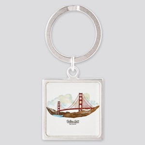 San Francisco Golden Gate Bridge Keychains