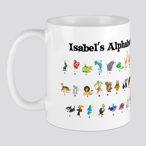 Isabel's Animal Alphabet Mug