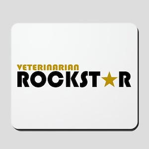 Veterinarian Rockstar 2 Mousepad