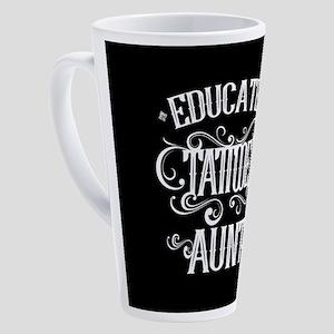 Tattooed Aunt 17 oz Latte Mug
