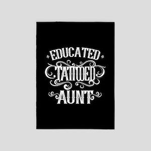 Tattooed Aunt 5'x7'Area Rug