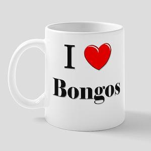 I Love Bongos Mug