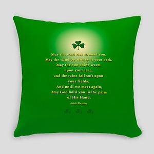 Irish Blessing-21 Everyday Pillow