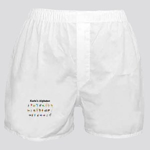 Katie's Animal Alphabet Boxer Shorts