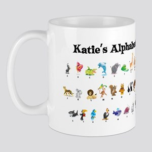 Katie's Animal Alphabet Mug