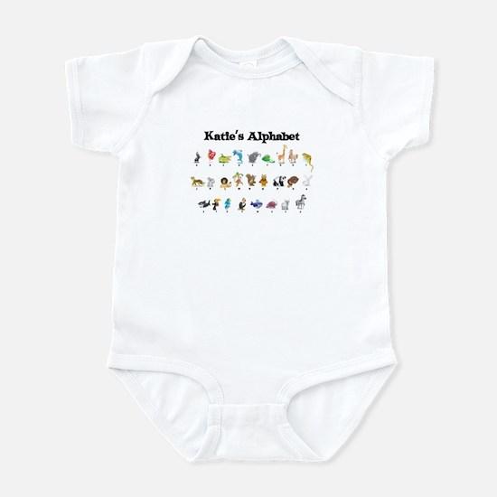 Katie's Animal Alphabet Infant Bodysuit