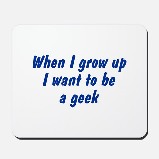WIGU Geek Mousepad