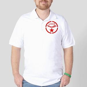 Moorish Adept logo in red Golf Shirt