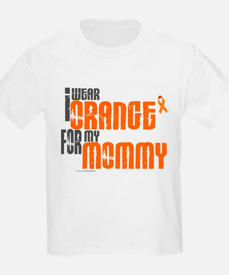 I Wear Orange For My Mommy 6 T-Shirt