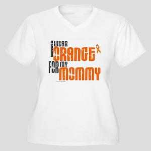 I Wear Orange For My Mommy 6 Women's Plus Size V-N