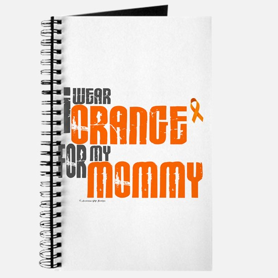 I Wear Orange For My Mommy 6 Journal