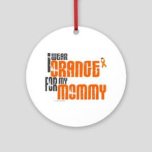 I Wear Orange For My Mommy 6 Ornament (Round)