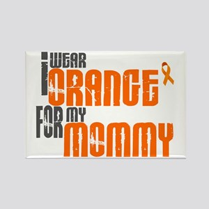 I Wear Orange For My Mommy 6 Rectangle Magnet