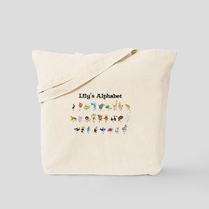 Lily's Animal Alphabet Tote Bag