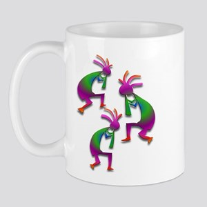 Three Kokopelli #100 Mug