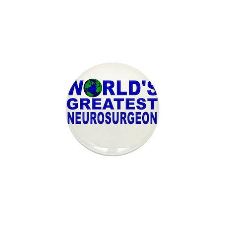 World's Greatest Neurosurgeon Mini Button