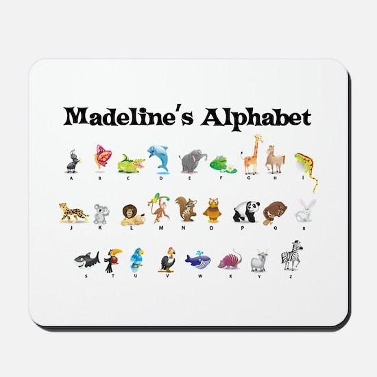 Madeline's Animal Alphabet Mousepad