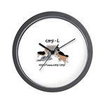 Corgi-L Wall Clock