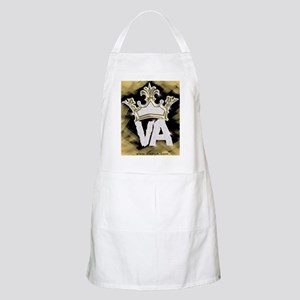 Crown of VA BBQ Apron