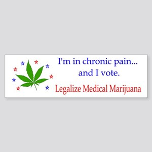 Chronic Pain Bumper Sticker