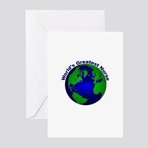 World's Greatest Nurse Greeting Cards (Pk of 10)