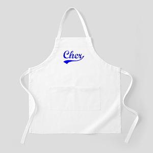 Vintage Cher (Blue) BBQ Apron
