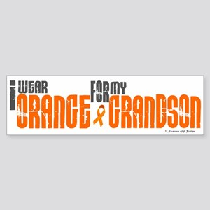 I Wear Orange For My Grandson 6 Bumper Sticker