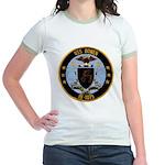 USS BOWEN Jr. Ringer T-Shirt